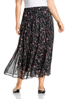Plus Size - Sara Tiered Skirt