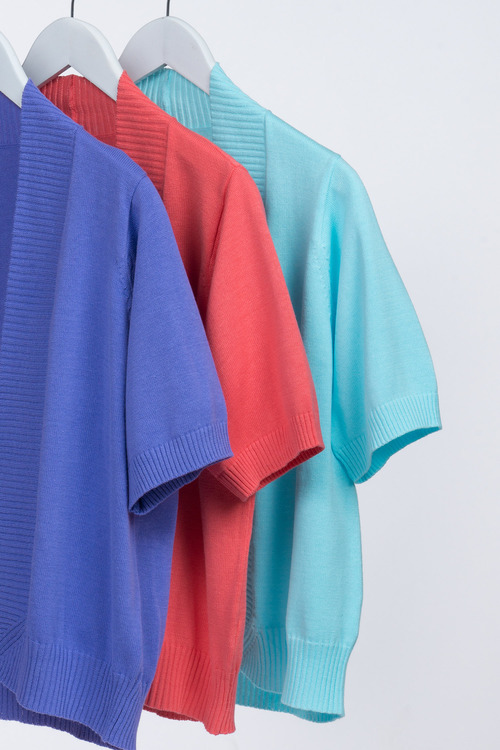Plus Size - Sara Short Sleeved Cardi