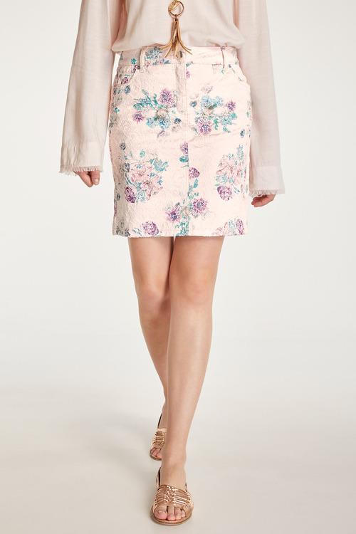 Heine Floral Jacquard Skirt