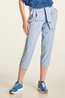 Heine Stripe Pleat Pants - 233880