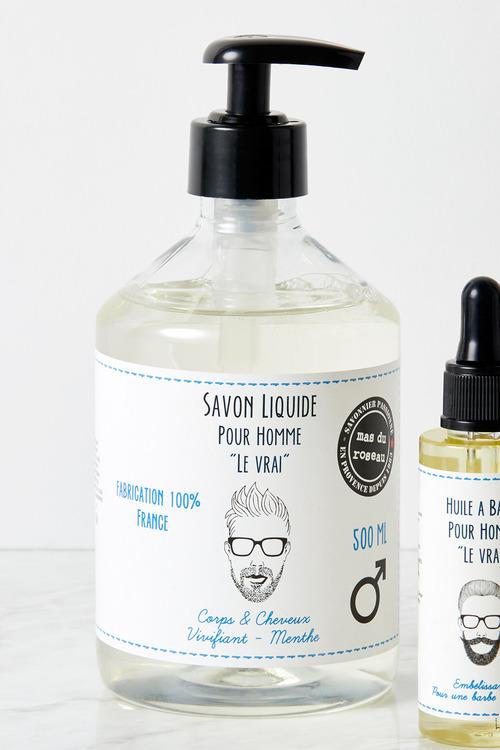 Mas du Roseau Men's Body and Hair Liquid Soap