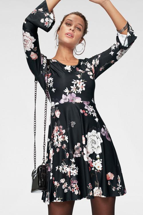 Urban Floral Dress