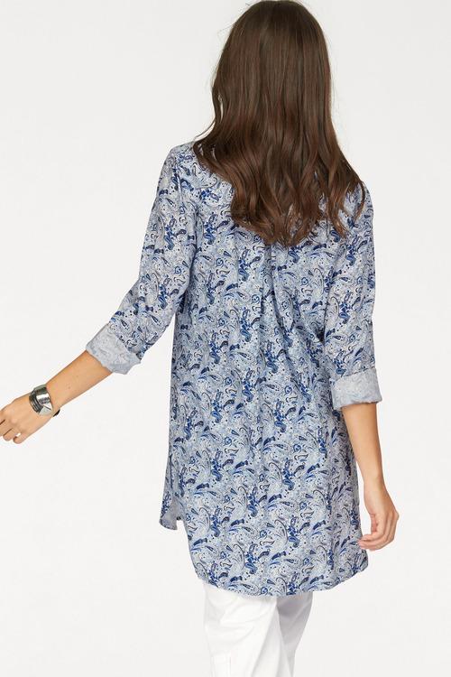 Urban Printed Long Shirt