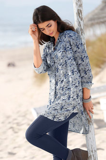 Urban Printed Long Shirt
