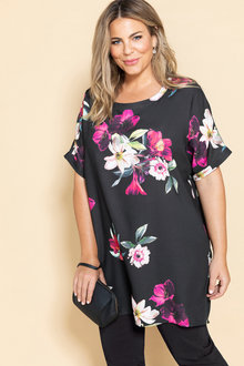 Plus Size - Sara Hi Low Tunic