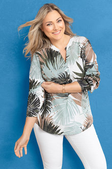 Sara Cotton Voile Shirt - 233924