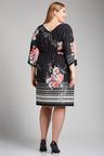 Plus Size - Sara Kimono Dress