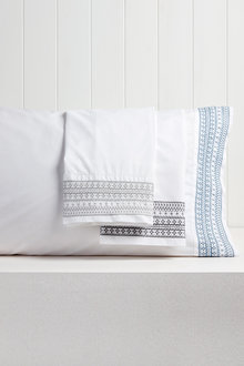 Florence Embroidered Pillowcase Pair