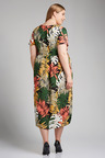 Plus Size - Sara Ladder Lace Dress