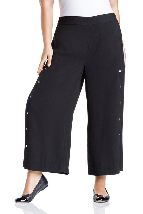 Plus Size - Sara Side Split Pants