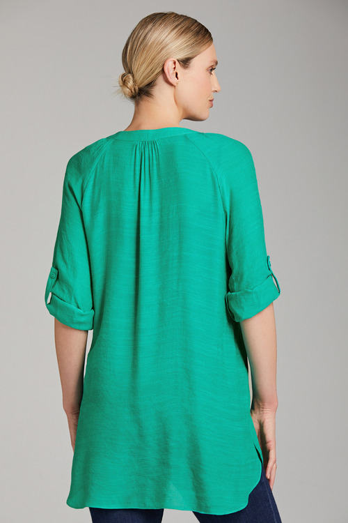 Capture Pintuck Tunic