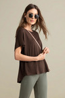 Capture Linen Relaxed Tee