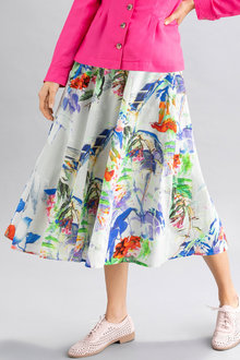 Capture Poplin Tea Skirt