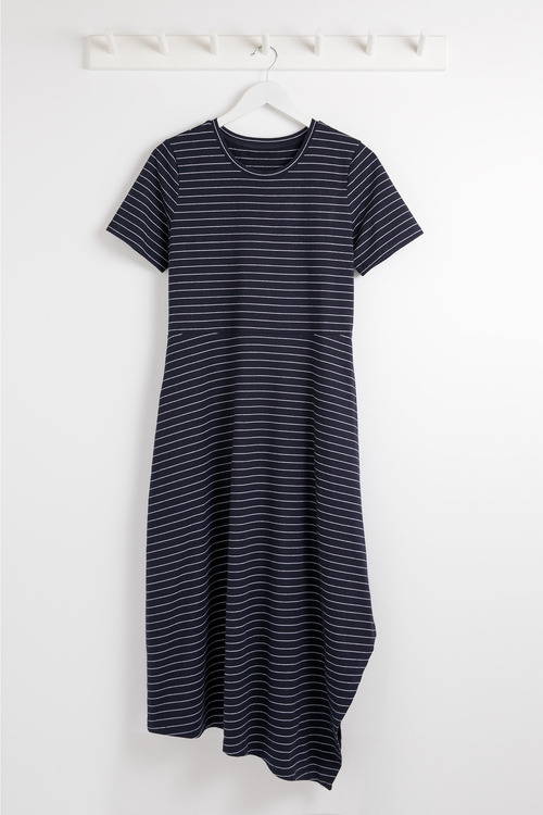 Capture Stripe Jersey Dress