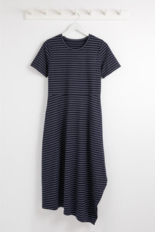 Capture Stripe Jersey Dress