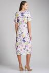 Capture V Neck Midi Dress