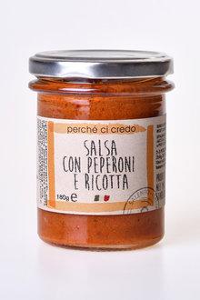 Perche Ci Credo Pepper & Ricotta Salsa