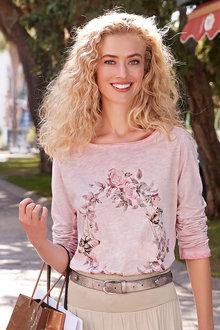 Heine Flower Print Top