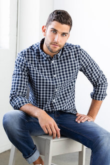 Jimmy+James Mens Long Sleeve Shirt