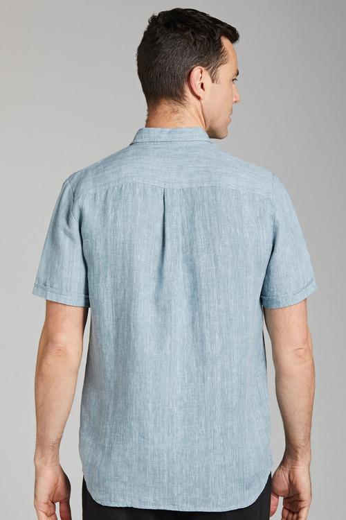 Jimmy+James Mens Linen Shirt