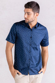 Jimmy+James Men's Short Sleeve Shirt - 234148