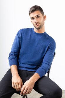 Jimmy+James Men's Crew Neck Jumper - 234150