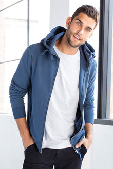 Jimmy+James Mens Zip Hoodie