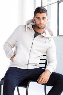 Jimmy+James Men's Zip Hoodie - 234154
