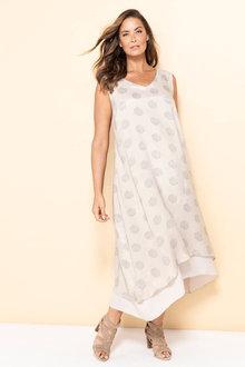 Plus Size - Sara Double Layer Dress