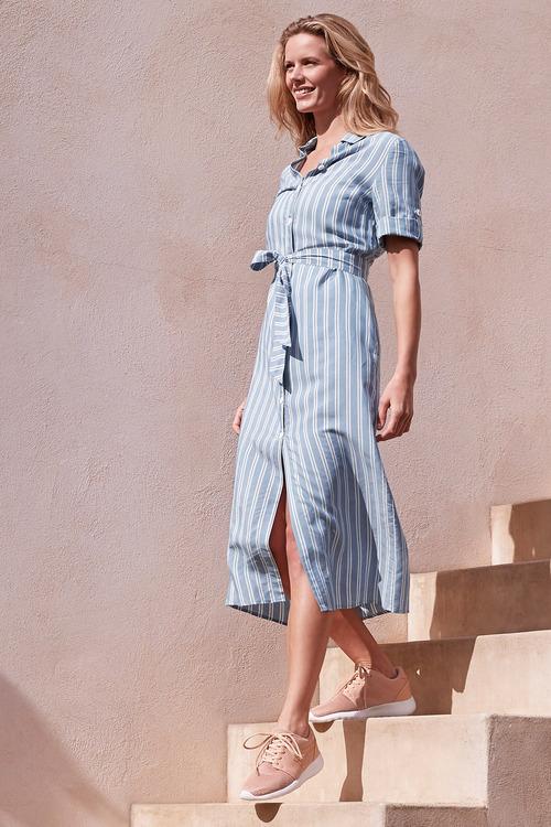 Heine Stripe Shirt Dress