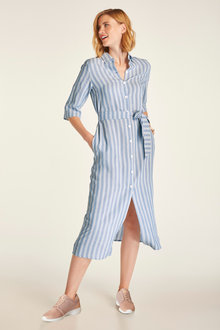 Heine Stripe Shirt Dress - 234173