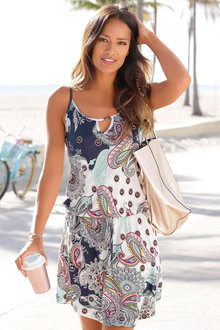 Urban Printed Beach Dress - 234176