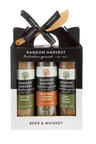 Beer and Whiskey Mustard and Rubs Set of Three