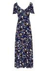 Kaleidoscope Ruffle Detail Maxi Dress
