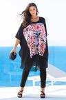 Plus Size - Sara Chiffon Kaftan Top