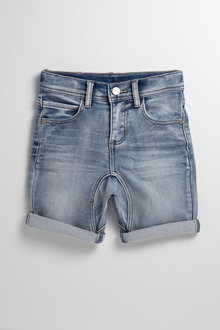 Pumpkin Patch Denim Shorts