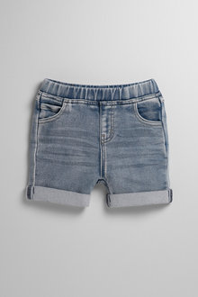 Pumpkin Patch Infants Knit Denim Shorts