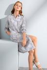 Grace Hill Linen Placket Dress