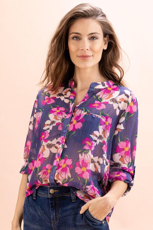 Capture Printed Chiffon Shirt