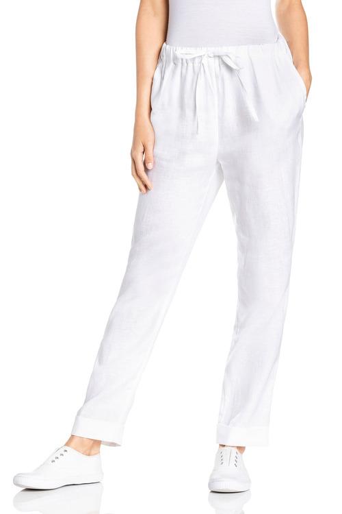 Capture Linen Cuff Pants