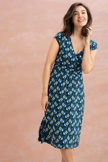 Capture Wrap Dress - 234273