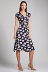 Capture Wrap Dress