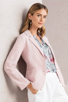 Capture Linen Blazer