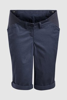 Next Maternity Knee Chino Shorts