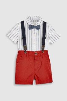 Next Shirt And Shorts Set (3mths-6yrs)