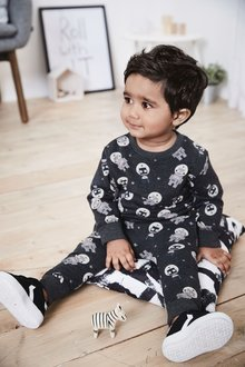 Next Robot All Over Print Crew And Jogger Set (3mths-7yrs)