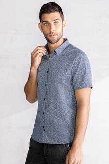 Jimmy+James Men's Short Sleeve Shirt - 234319