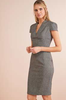Next Textured Dress- Tall