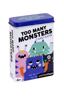 Peticollage Too Many Monsters Card Game