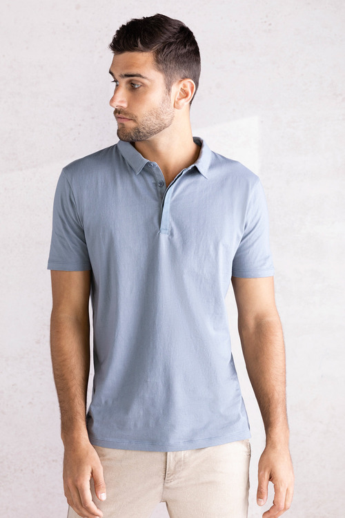 Jimmy+James Men's Short Sleeve Polo